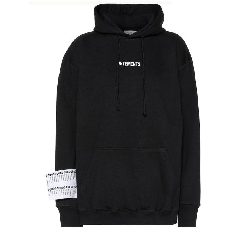 Sticker Vetements Women Men Hoodie 1:1 High Quality Fashion Vetements Pullover