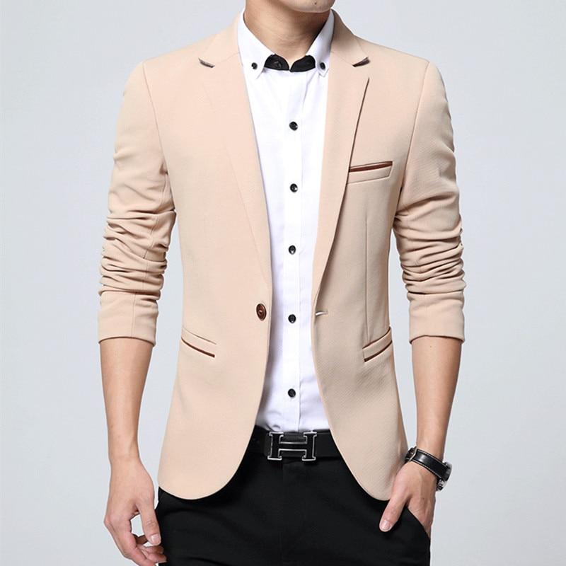 Aliexpress.com : Buy NEW Mens Fashion Brand Blazer casual Slim Fit ...