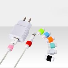 Protecotor намотки защитные шнур кабеля рукава ipad силиконовые протектор цифровой кабель