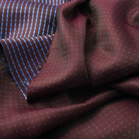 Heavy Jacquard Yarn dyed Silk Fabric Bedding Coat Fabric Width 2 Meter