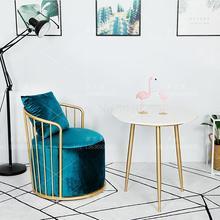 Нордический кованый диван Кафе Бизнес диван-кресло для отеля магазин одежды сеть красный прием один диван