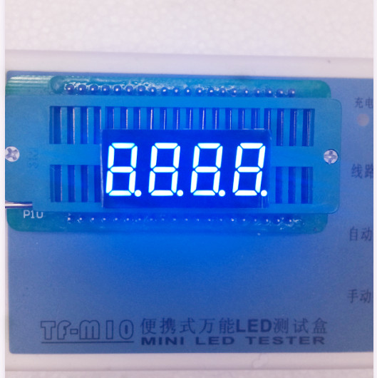 Common Anode/ Common Cathode 0.36 Inch Digital Tube 4 Bits Digital Tube Led Display 0.36inches Blue Digital Tube