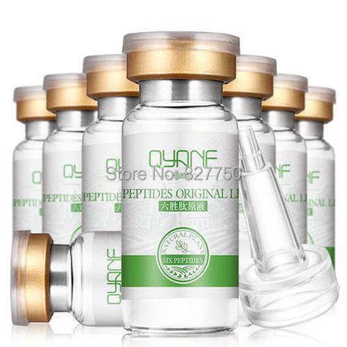 1Pcs six peptides serum for striae Anti-Wrinkle Cream anti aging collagen rejuvenating face lift skin care
