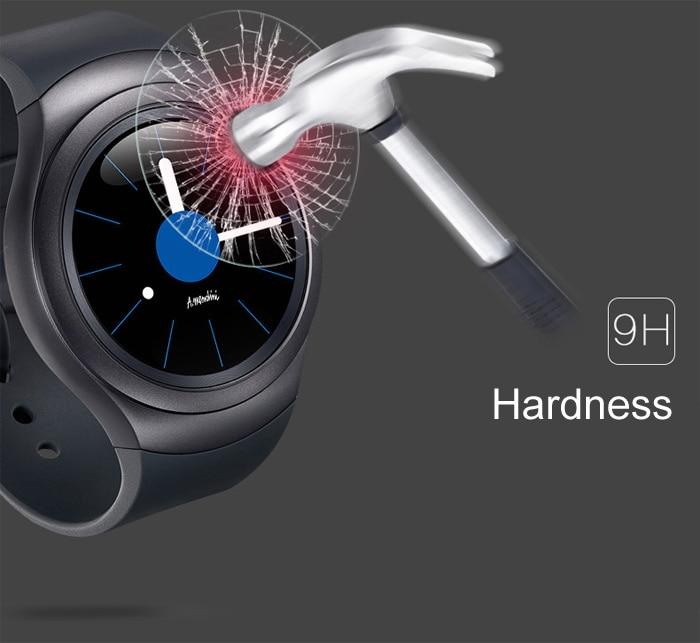 Neuzugang 0,26 mm 2,5 D 9H gehärtetes Glas für Samsung Galaxy Gear - Handy-Zubehör und Ersatzteile - Foto 4