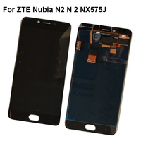 For ZTE Nubia N2 N 2 NX575J LCD Screen 100% Original LCD Display +Touch Screen Assembly NX 575J Replacement Smartphone