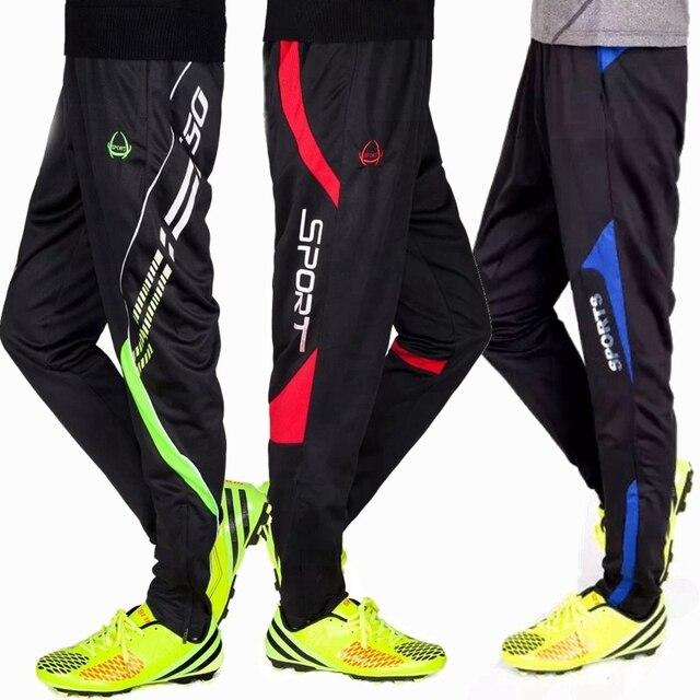 2018 entrenamiento de fútbol pantalones largos profesionales hombres niños  fútbol baloncesto correr deporte ropa deportiva e24cd6a9f9f87