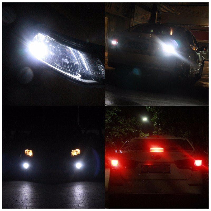 Image 5 - Car Styling!! 2pcs H7 150W Fog Led Light Lamp 12V 30 SMD 3030 Chip White Bulb Car Styling Headlight For Headlamp lights-in Car Headlight Bulbs(LED) from Automobiles & Motorcycles on AliExpress