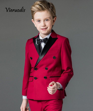 Wedding Boy's Suits Double Breasted Suit Page Boy Party Prom Suits Custom Made 2 piece set джемпер italian rugby style page 2 href page 6 page 9
