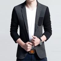 2016 New Design Brand Casual Blazer Men Spring Single Button Mens Slim Fit Business Suit Jacket Masculino Clothing M-5XL 13M0600