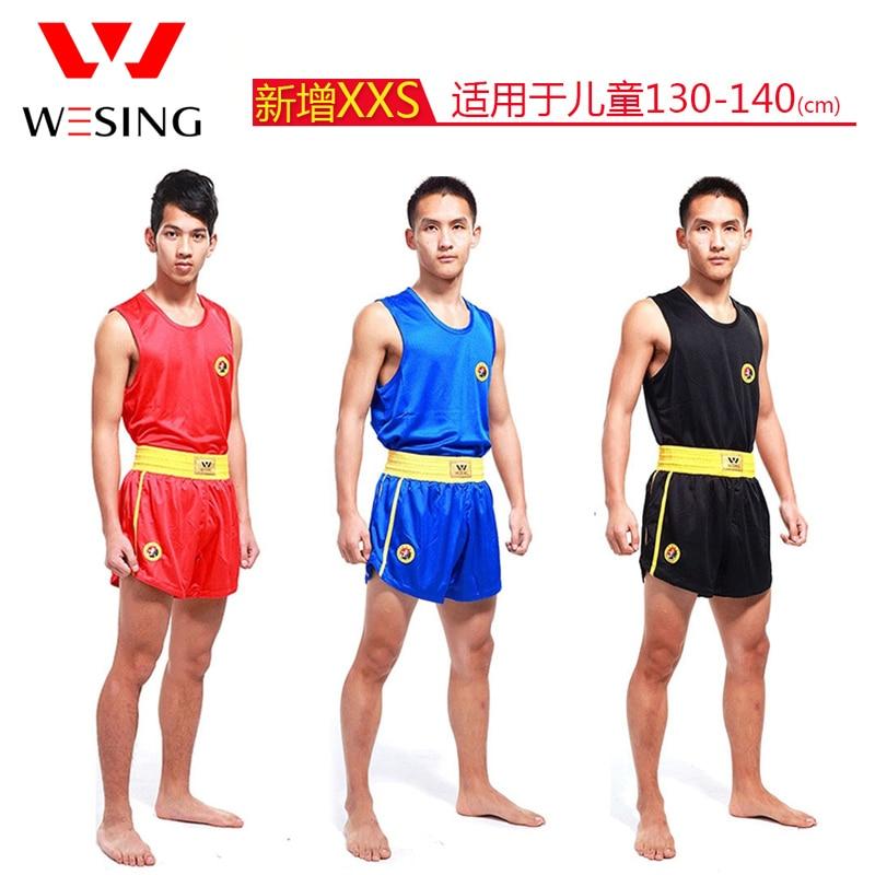 Sports & Entertainment Clever Wesing Sanda Uniform Wushu Sanda Suit For Sanda Kick Boxing Training Competition Ture 100% Guarantee