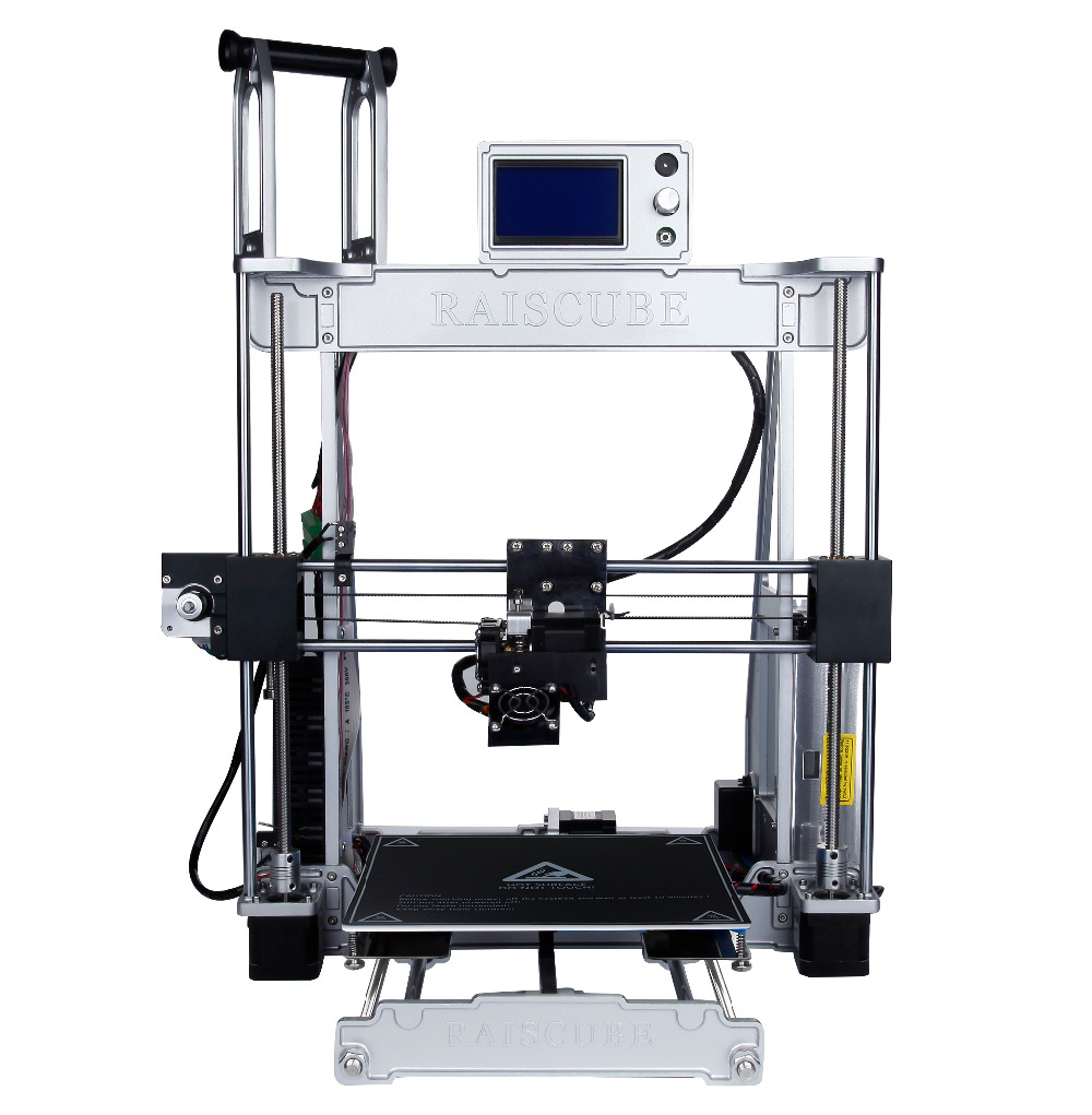 NEW!!! Prusa I3 3D Printer Kit Aluminum 3D Printing Machine  All metal, up to 300mm/s, 1 Year Warranty, CE/FCC/RoHS Certificated