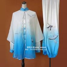 Tai chi clothing Martial arts suit kungfu uniform taiji clothes Chinese Qigong embroidery for men women children boy girl adults