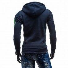 Zipper Hoodie Sweatshirt  Suit Slim Fit For Men
