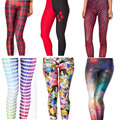 2017 Nova Moda Adulto Mulher Leggings Para As Mulheres Legging Calças Jeggings Primavera Inverno Leggings de Fitness Legging Mid 3D 13 Cores