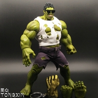 Avenger Alliance 2 Movie Hulk US Captain 3 Movable Dolls Action Figure Toys With Gloves T11