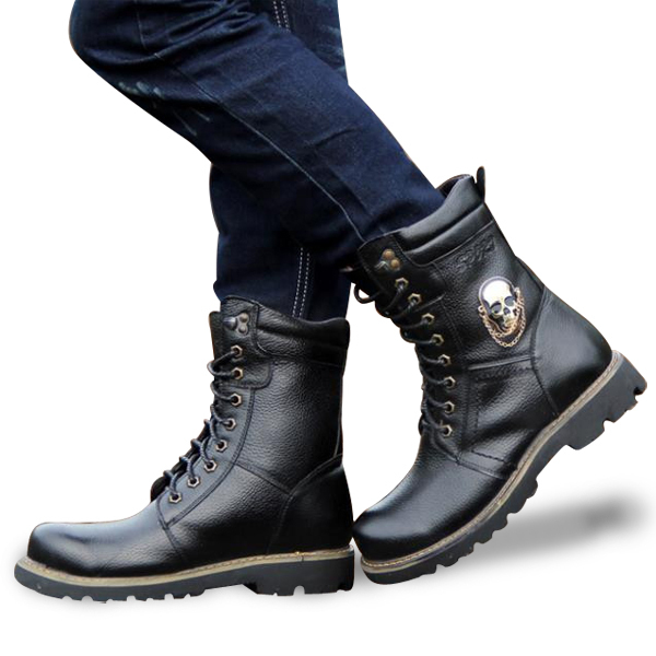 Biker boots have made their way into men's fashion and their metal buckles and edgy design definitely make a statement. Whether you're looking for men's biker boots as a stylish addition to your wardrobe or purely for motorcycle riding, here we have the best biker boots for men including brands like Frye, Dingo, Harley-Davidson, Ariat and more.