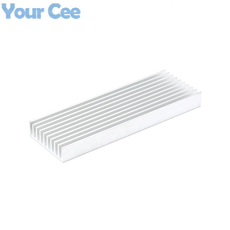 1 pc 100 35 10mm heatsink cooler cooling fin aluminum radiator heat sink for led  power ic
