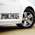 Reflexivo Uma Peça Dos Desenhos Animados Logo Side Car Sticker Decal Para Chevrolet Cruze Ford Focus Kia sportage Volkswagen Skoda Szuki