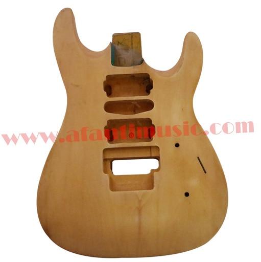 Afanti Music DIY guitar DIY Electric guitar body (ADK-026) afanti music prs diy guitar kit prs style electric guitar apr 727