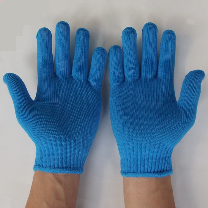 Nylon Knitted Gardening Glove Work Labor Protection Gloves oil free comfortable cheap nitrile gloves white nylon knitted hands protection gloves white mechanic construction industry