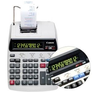 Image 2 - Drukuj kalkulator MP 120MG drukuj Adder biznes komputer biurowy kalkulator Calculadoras Calculadora