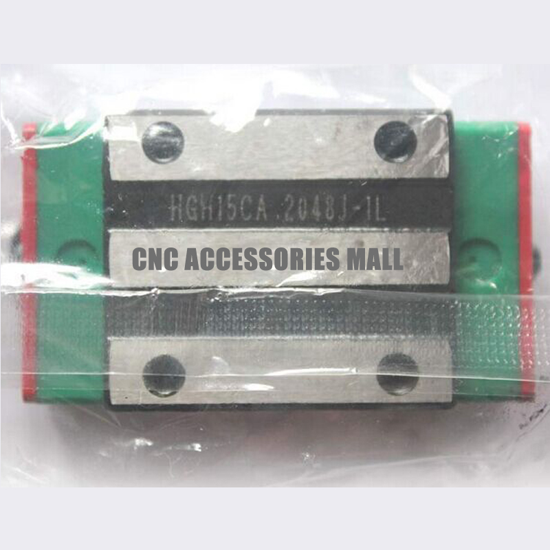 все цены на 1pcs HGH15CA Original HIWIN Linear Guide Blocks match HGR15 Linear Guide Rails онлайн