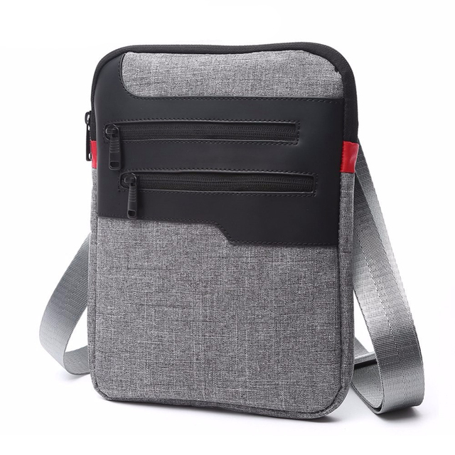 Zebella Casual Mens Messenger Shoulder Bag For iPad 8