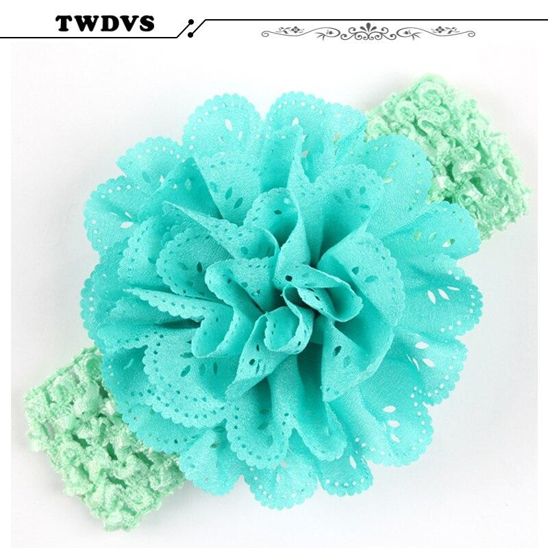 TWDVS Headwear Flower Headband Girls Flower Hair Bow Girl Headbands Headband Hair Accessories Hair Band W031