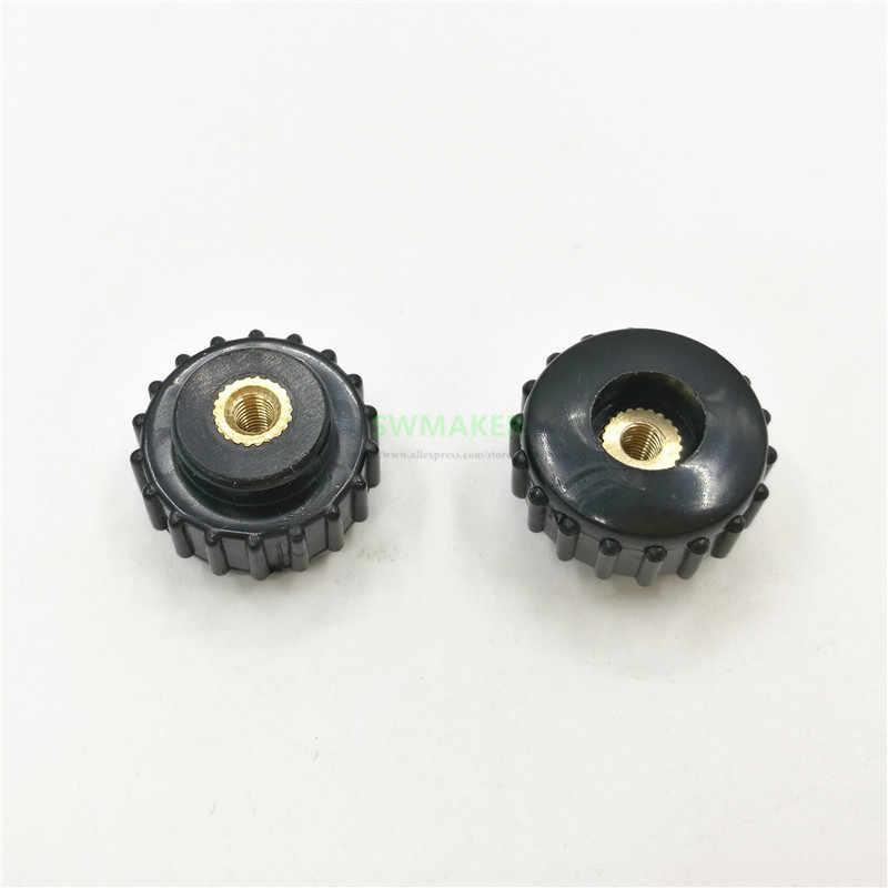 4 pcs M3/M4 Leveling Thumb สกรูอ่อนนุชสำหรับ Reprap 3D เครื่องพิมพ์ฤดูใบไม้ผลิโหลดเตียงอุ่นอะไหล่