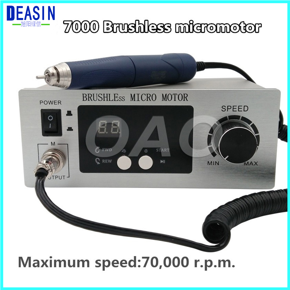 Dental Lab machine Brushless micro motor Jewellery engraving Micromotor Polishing machine Unit with handpiece dental lab machine brushless micro motor jewellery engraving micromotor polishing machine unit with handpiece