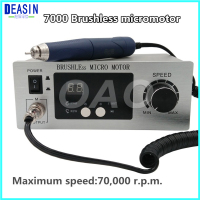 Dental Lab machine Brushless micro motor Jewellery engraving Micromotor Polishing machine Unit with handpiece