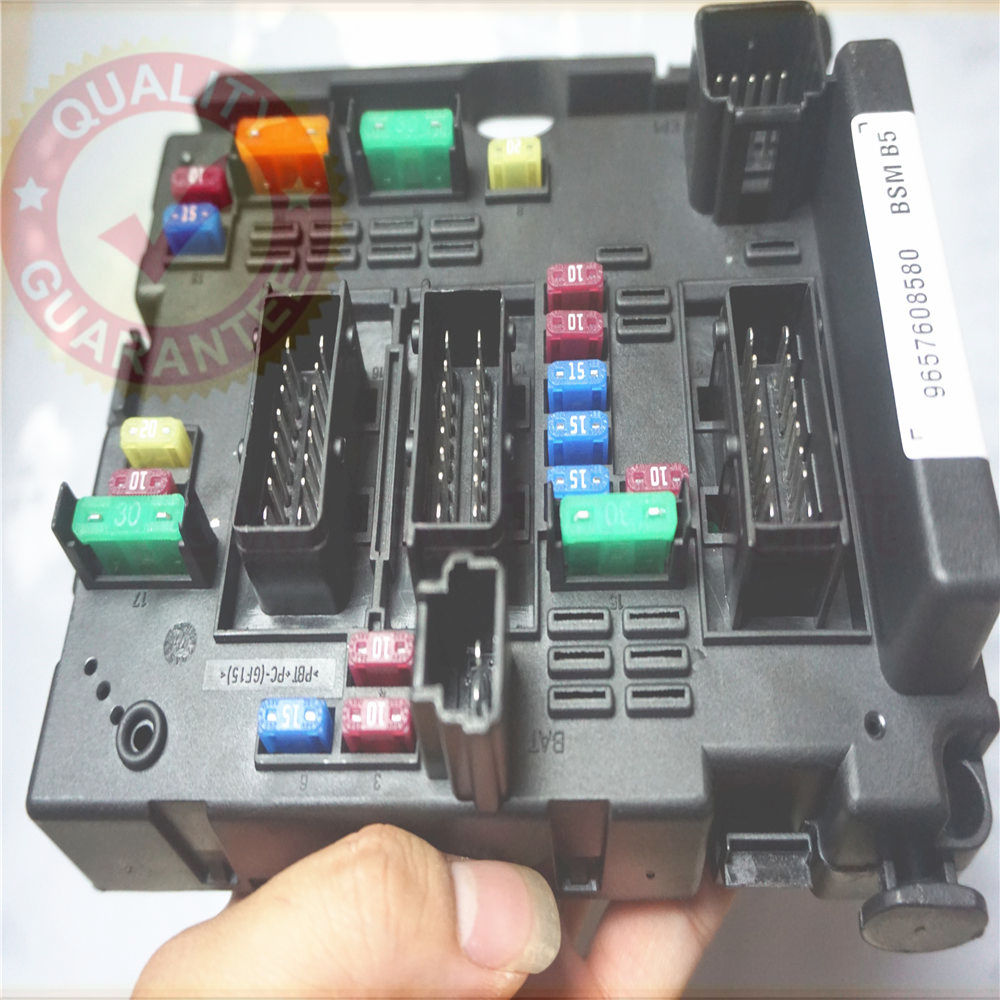 Fast Shipping Fuse Box Unit Assembly Relay For Peugeot 206 Cabrio Audi A6 4f Location 9650663980 Module General System Controller Body Control Citroen C3 C5 C8 Xsara