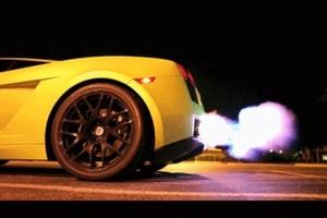 Image 5 - 電源ビルダータイプ B 改訂リミッターレース排気火炎放射器キット点火改訂リミッター起動制御火災コントローラなしロゴ