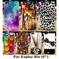 Brilliant Hard Plastic Cases For Explay Rio 5 inch Cover For Explay Rio Play Case Phone Back Cover Housing Hood Skin Shell