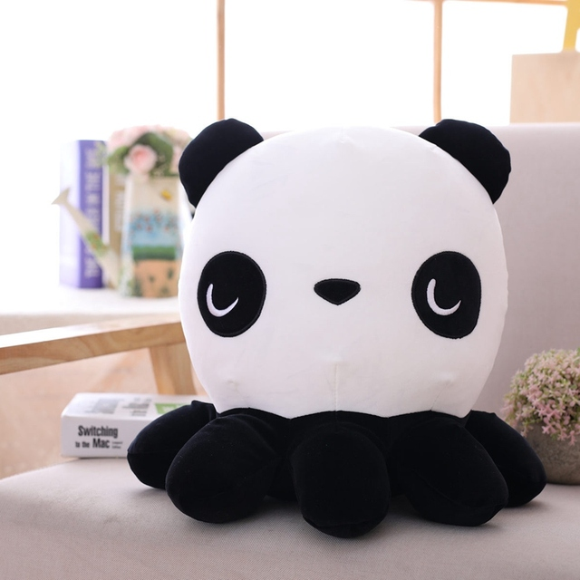 35cm Creative Cute Octopus With Panda Or Pig Plush Toys Octopus Whale Dolls & Stuffed Toys Plush Sea Animal Toys Children Gifts