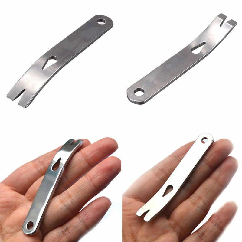Mini Stainless Steel Crowbar Pocket Pry Bar Multifunction EDC Survival