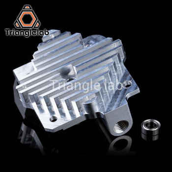 Trianglelab 3d printer Titan Aero Upgrade Heatsink Titan extruder and V6 Hotend Reprap  i3 3D printer parts free shipping trianglelab 3d printer titan extruder for 3d printer reprap mk8 j head bowden free shipping for cr10 i3 ender 3