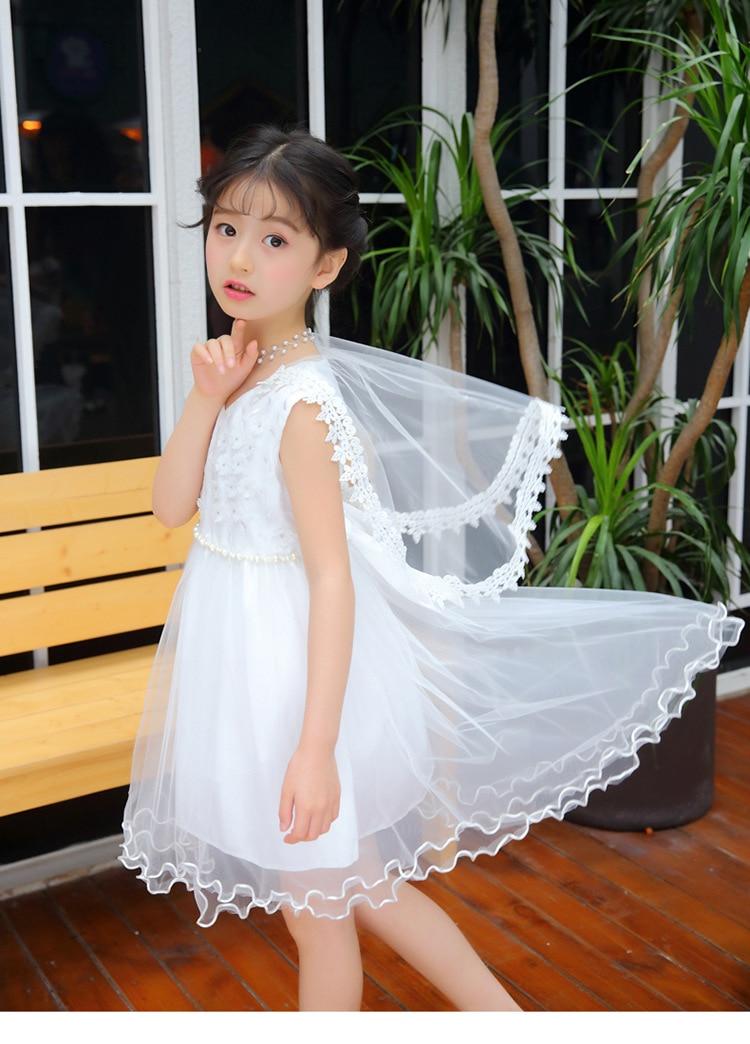 5-13yrs Лидер продаж платье элегантные девушки раздвоенным хвостом платье Высокое качество детское праздничное платье принцессы одежда 2 цвет...