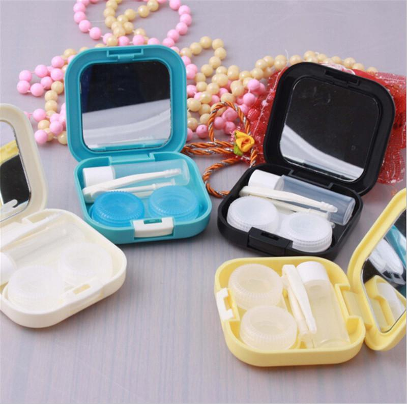 Best Deal Colored Contact Lenses Case Box For Travel Outdoor Mini Case For Glasses