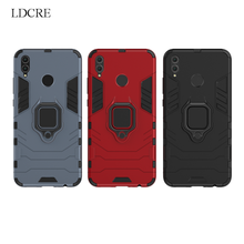 For Cover Huawei Honor 8X Case Magnetic Finger Ring Kickstand Hard Phone Fundas