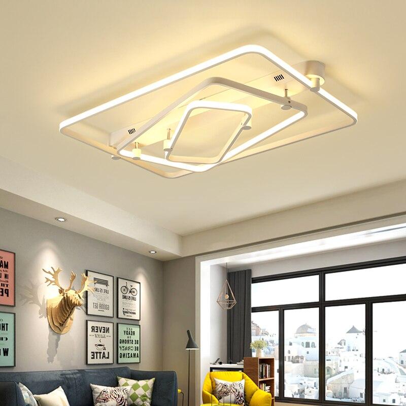 led ceiling light Modern living room light Nordic minimalist bedroom creative personality restaurant light plafondlamp