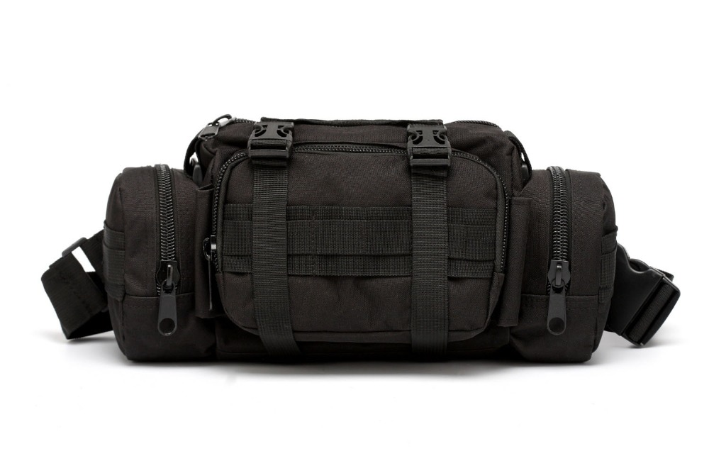 Emergency Kit Black Tactical Bag Sport Bags Military Waist Pack Molle Outdoor Pouch Bag Durable Backpack For Camping Hiking