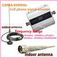 LCD UMTS GSM CDMA 850MHz 2G 3G 4G Wireless Mobile Phone Repeater Signal Booster Signal Repeater Amplifier + Cable + Antenna