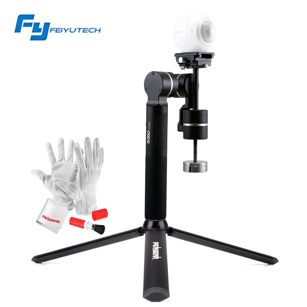 FeiyuTech Feiyu G360 3-Axis Handheld Camera Gimbal 360 for SmartPhone Gorpo Camera Sony X3000R Easy to Shoot Movies or Record yuneec q500 typhoon quadcopter handheld cgo steadygrip gimbal black