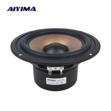 AIYIMA 1 шт. 6,5 дюймовый басовый динамик 4 8 Ом 120 Вт Hifi сабвуфер аудио динамик s НЧ динамик громкий динамик для домашнего кинотеатра Caixa De Som