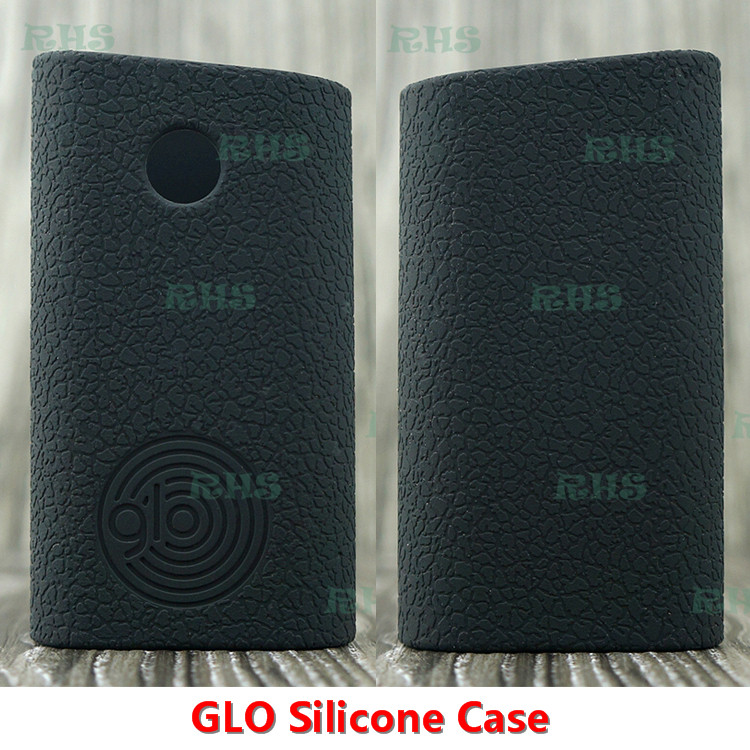 RHS Factory Price High Quality Silicone Case For GLO Case And Five Classic Colors Silicone Cover For GLO Free Shipping