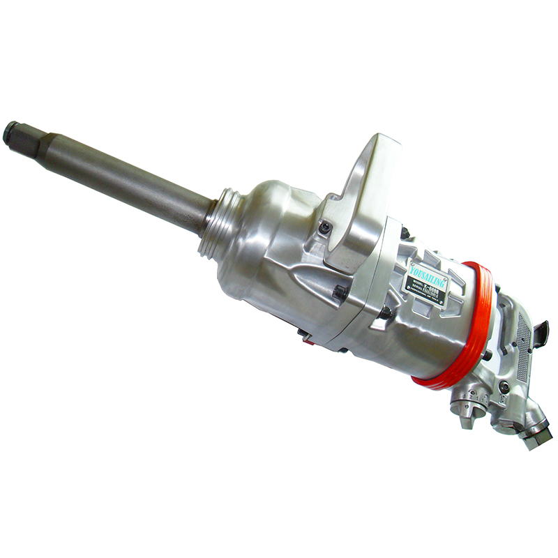 YOUSAILING Quality Pinless Hammer Structure 4800N.M Industrial Heavy Duty 1 Pneumatic Wrench Air Impact Wrench Air Tools