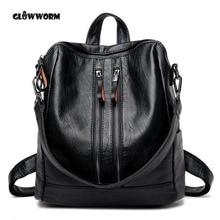Для женщин Пояса из натуральной кожи рюкзак Школьные сумки для подростков девушки Дорожная сумка дизайнер высокое качество овчины Рюкзаки Mochilas