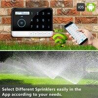 Garden Wifi Irrigation System Smart Controller Garden Watering System Sprinkler Timer Voice Control System US 110V EU 220V 240V