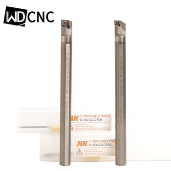 Free shipping JIK carbide inserts holder boring bar C04G-C08K SCLCR solid carbide Cutting Tools For Lathe Turning Tools free shipping mcmnn 100 25 25 150mm 40 degree external lathe tools holder suit for cnmg1204 turning inserts